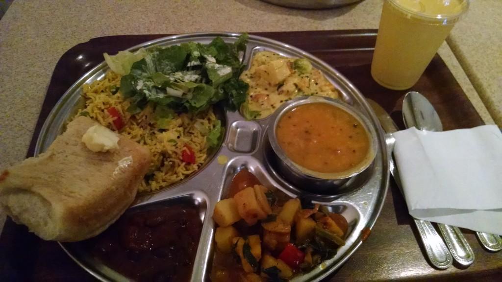 Yummy food from govindas